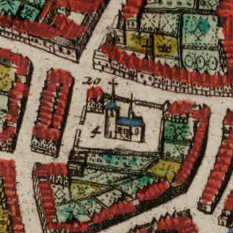 Harold Tor - Oud Leuven: S. Iacobus kercke