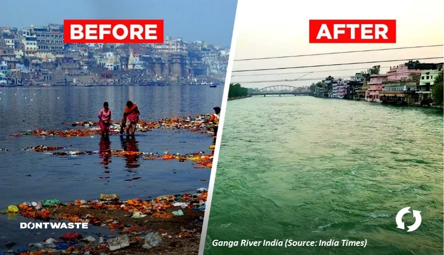 India Before and After
