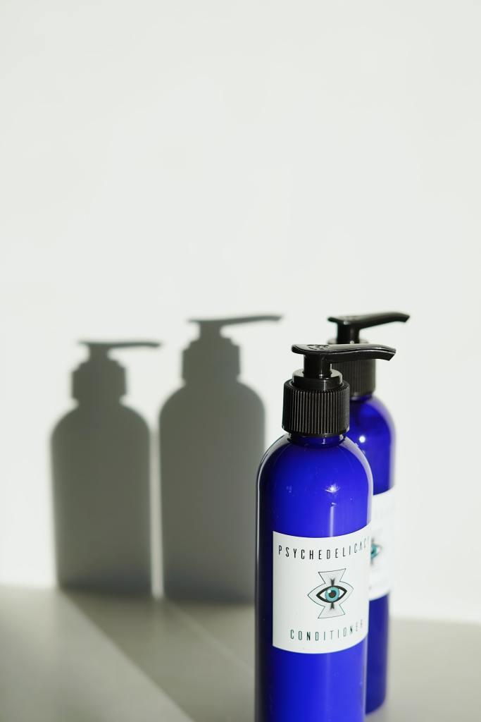 Reusable shampoo bottles