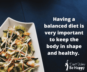 Manage Your Diet