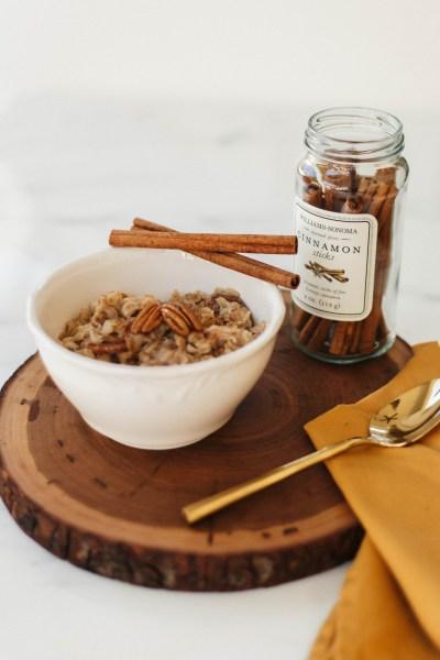 Maple Pecan Roasted Oats