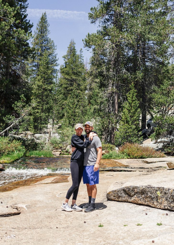 Camping in Sequoia National Park