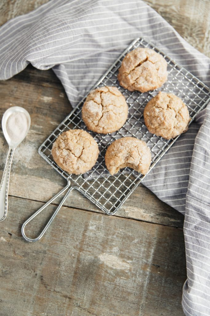 The Best Maple Snickerdoodles