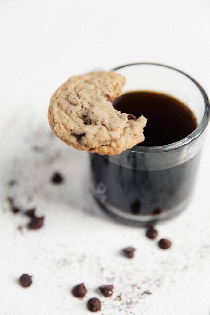 Coffee Chocolate Chip Cookies