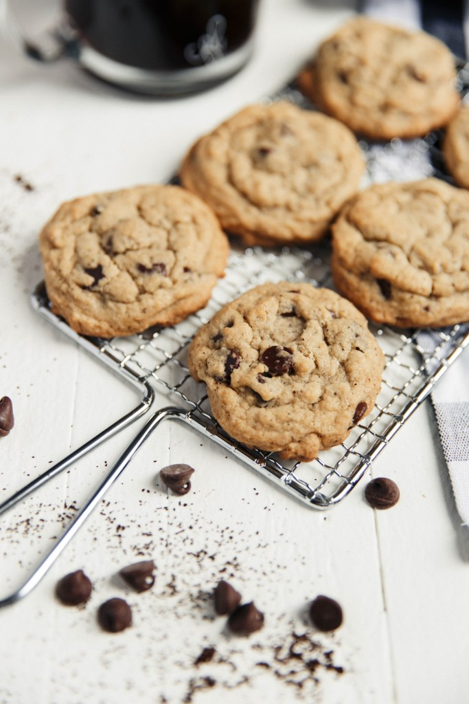 Coffee Chocolate Chip Cookies