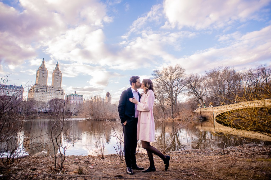 Central Park Engagement