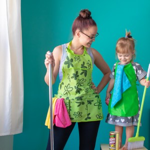 Spring Cleaning's a Family Affair with Bon Ami