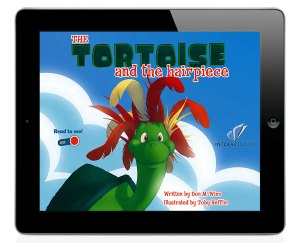 Tortoise and the Hairpiece on iPad
