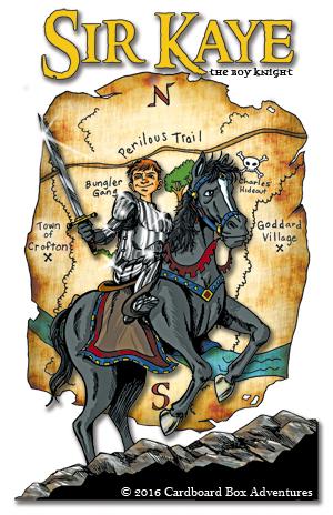Sir Kaye on horse