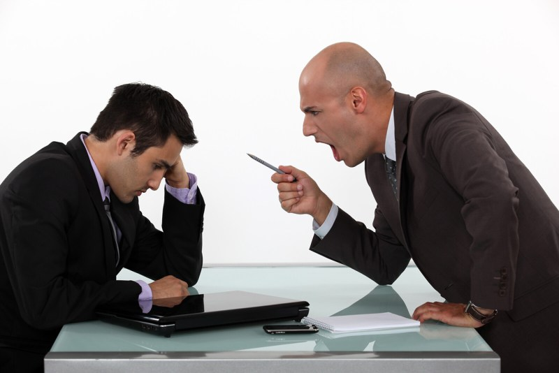 An irate boss yells at a dyslexic male employee from across a desk. The employee bows his head in shame, waiting for it to end. In this blog, I provide links to previous blogs that provide help for adults with dyslexia.