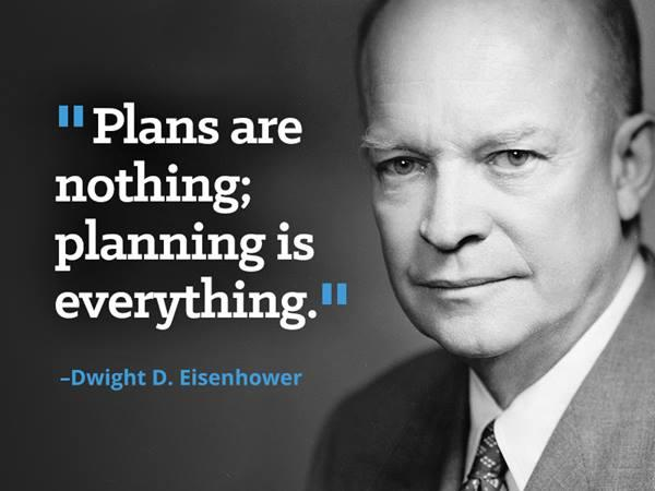 Plans are nothing - donXavier.Studio