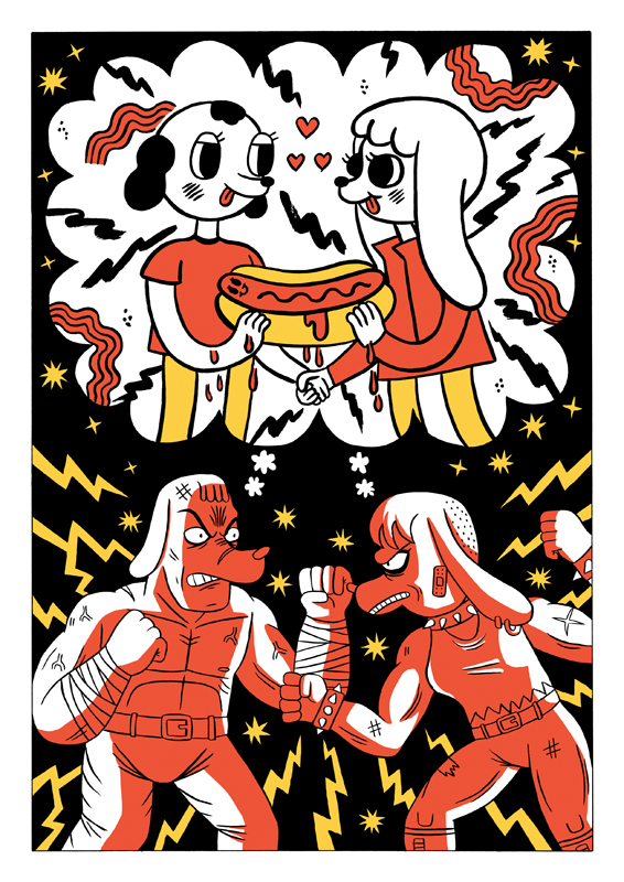 Made with Jack Teagle for Thoughtbubble Comic festival 2014