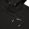 Unisex pullover hoodie embroidered with small logo