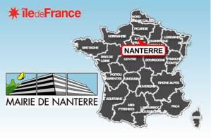 carte Nanterre