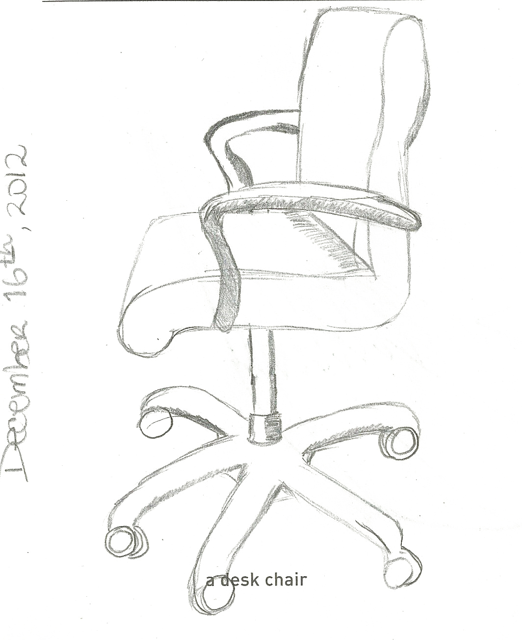 005 A Desk Chair Doodle Company