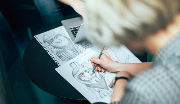 como fazer desenhos faceis e bonitos para usar como avatar