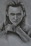 Tom Hiddleston Drawing Sean
