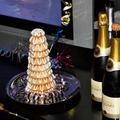 Kransekagen og champagnen