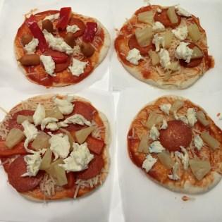 Mini-pizzaer