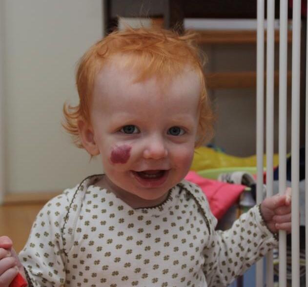 Johan, 1 år
