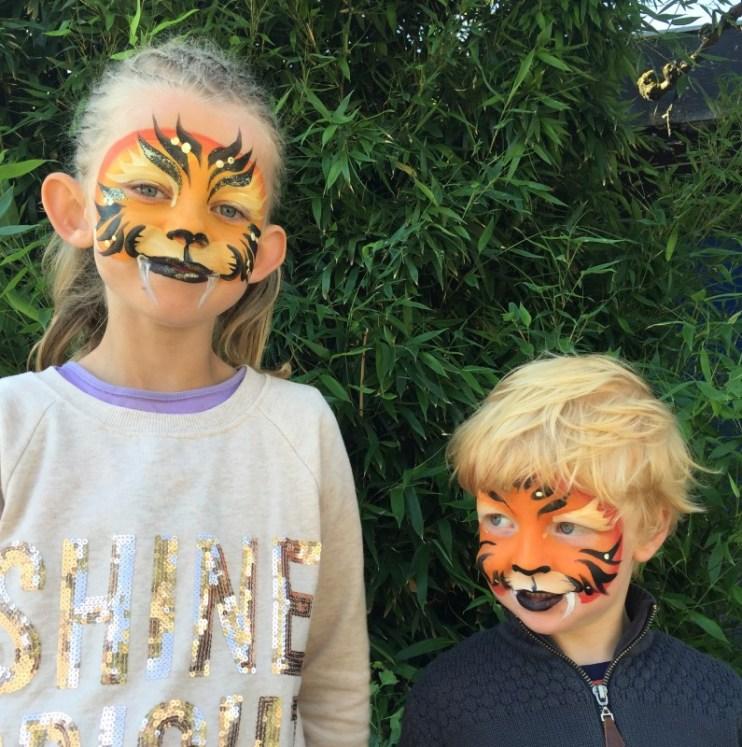 Mine to dejlige tigre!
