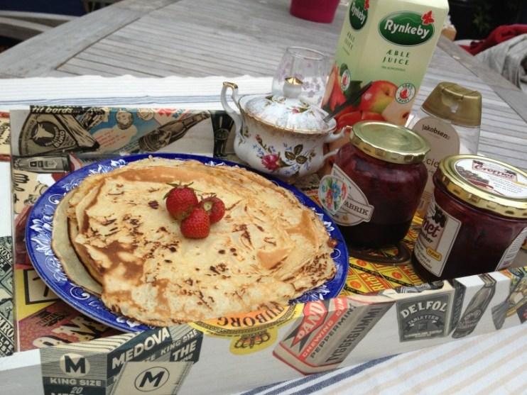 Pandekager til morgenmad