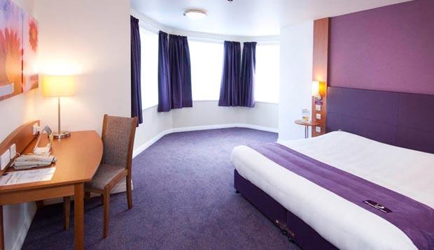 Hotelværelse til den perfekte frække weekend (Foto fra Premier Inn i London)