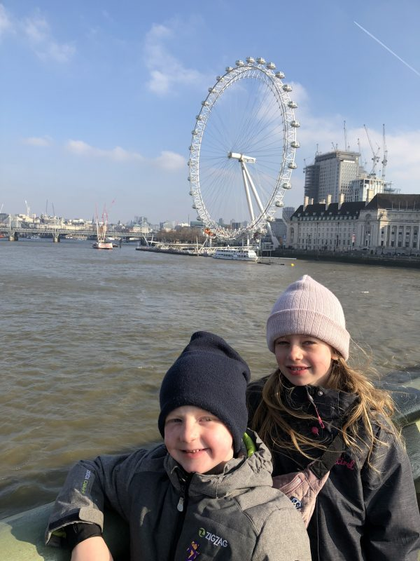 Rollingerne foran London Eye