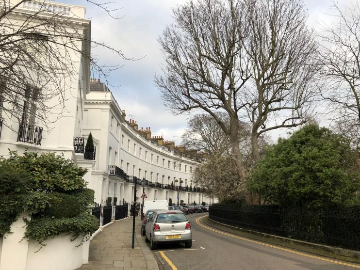 Belgravia i London / Fotograf: Lone Stendal