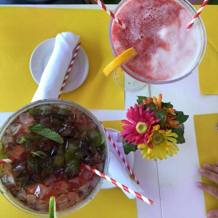 Cocktails på Ocean Drive