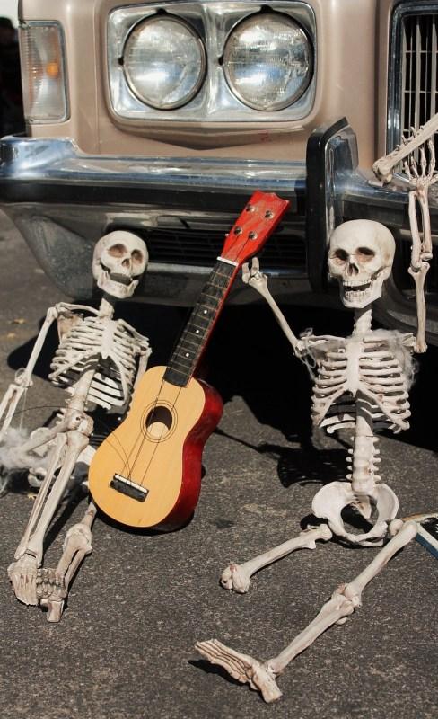 Skeletter til Halloween