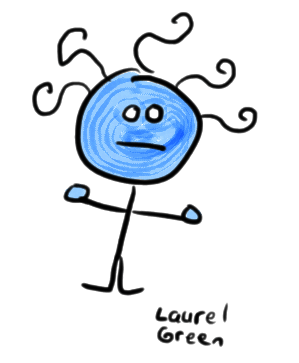 a drawing of a derp