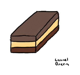 a drawing of a nanaimo bar