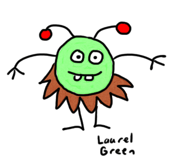 a drawing of a bug with a beard