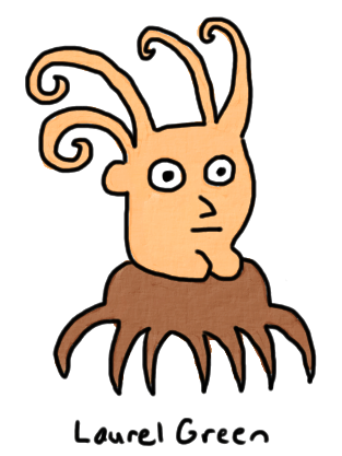 a drawing of a merg