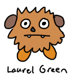 a drawing of a weird dog