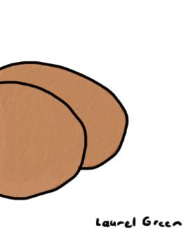 a drawing of kim kardashian's butt