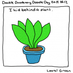 a drawing of a plant
