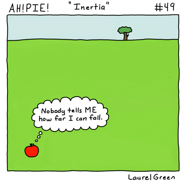 a comic about about an ambitious apple