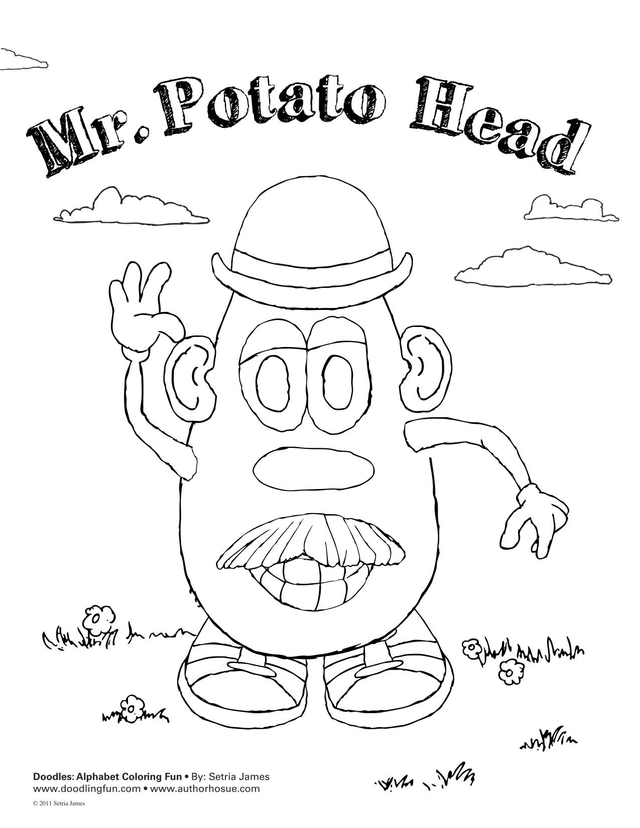Mr Potato Head Doodle