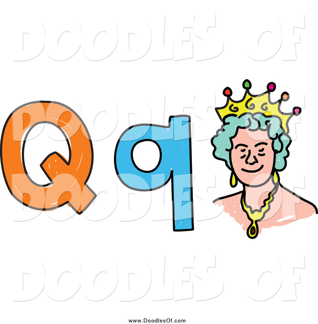 Royalty Free Stock Doodle Designs Of Letters
