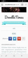 Blogmodernisierung