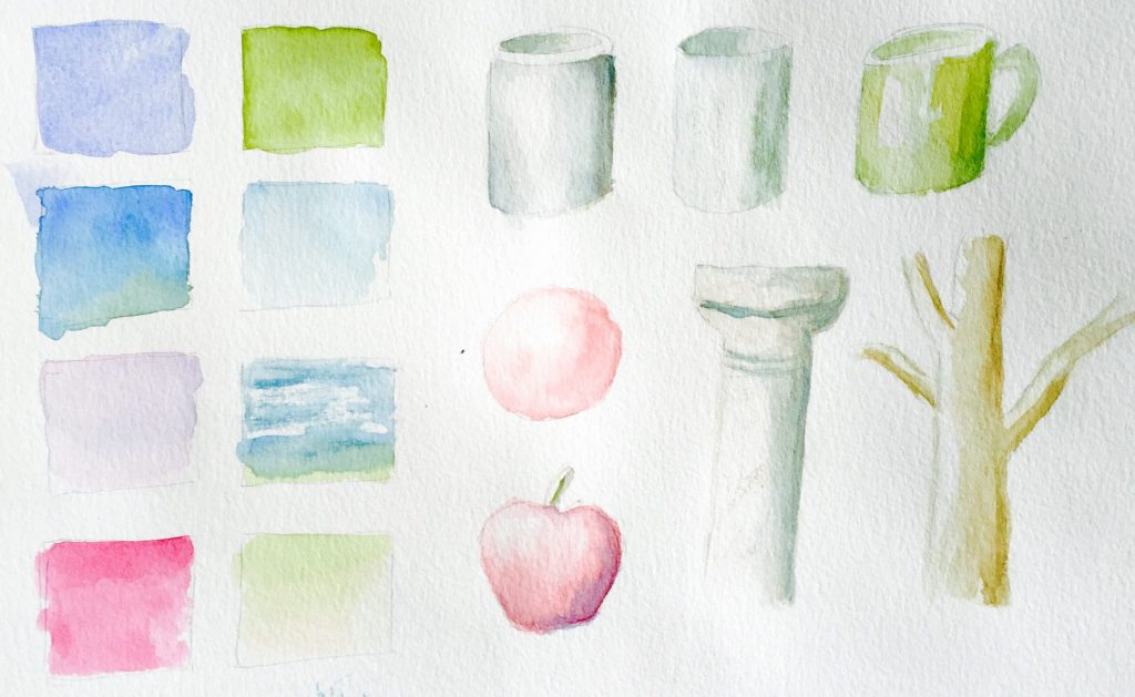 Learning Watercolor Washes Doodlewash