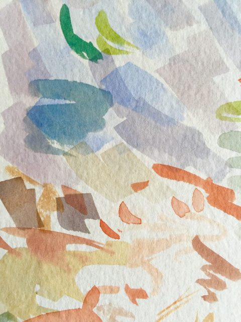 Watercolor Swatch Painting Happy Accidents Doodlewash