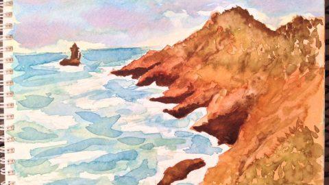 Magnificent Bretagne Watercolor by Philippe Noguera Doodlewash