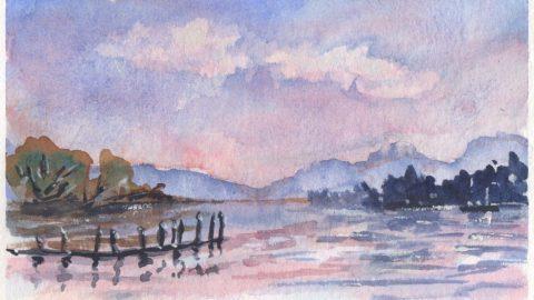 Pink Sky by Charlie O'Shields