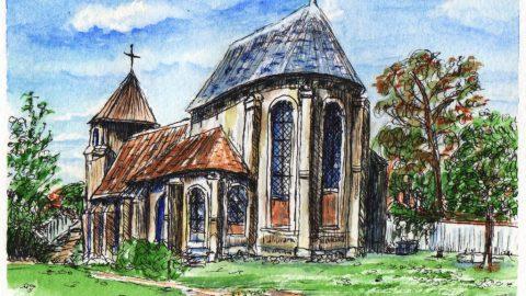 Chevet de l'église Saint-Eloi