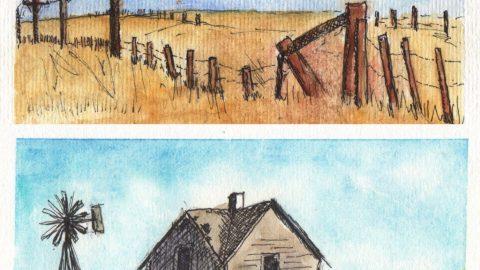 Abandoned Prairie by Lorna Moore