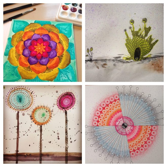 Doodlewashes by Jessica Seacrest