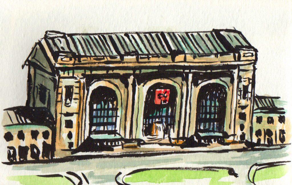 Union Station Urban Sketching
